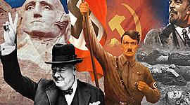 Ideologiernes kamp i det 20. århundrede  timeline