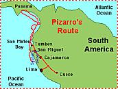 Francisco Pizarro was sponsored by Spain