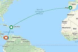 Juan Ponce de Leon was sponsored by Spain