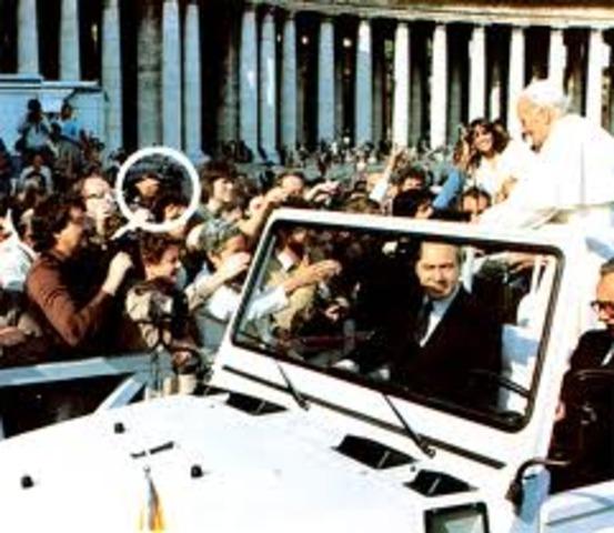 Assassination Atempt of Pope John Paul the II