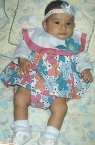 mis 6 mesesitos de nacida