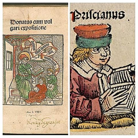 Textos de Donato y Prisciano