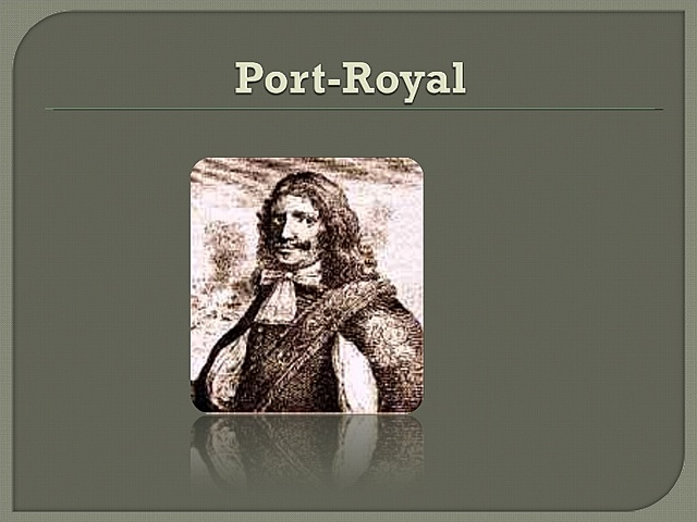Gramática de Port- Royal