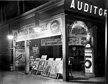 Las primeras salas de cine en el mundo