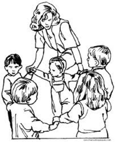 empiezo a ser maestra de niños