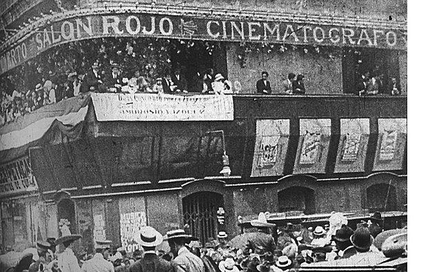 Las salas de cine en México
