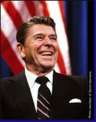 Ronald Reagan Gets Elected US President