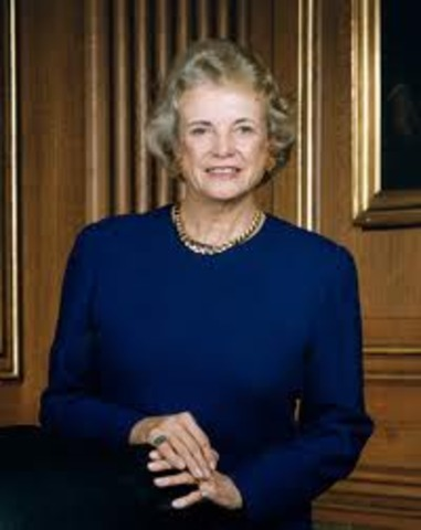 First Woman To Serve in Supreme Court