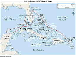 Juan Ponce De Leon: sponsered by spain