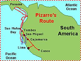 Francisco Pizarro: sponsored by Spain