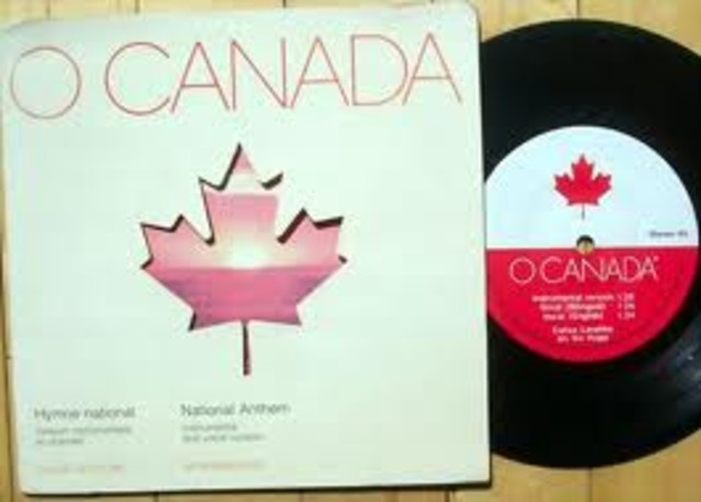 """""""O Canada"""" is Declared Canada's National Anthem"""