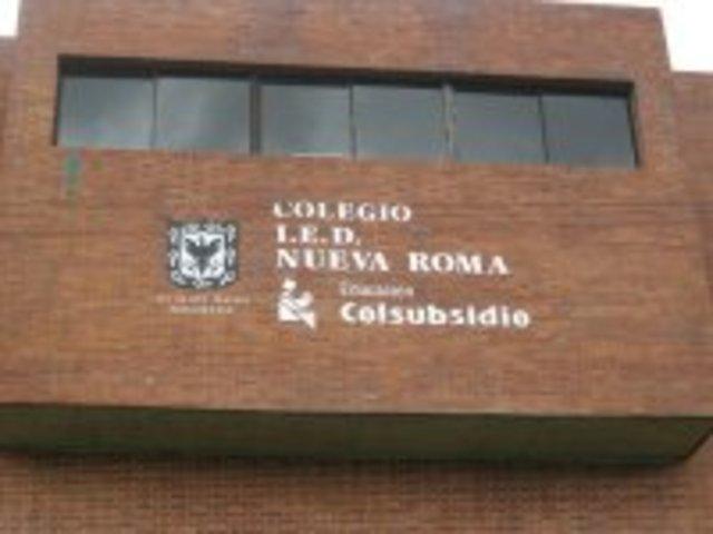 me transladaron al colegio colsubsidio nueva roma...