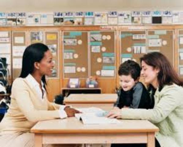 Parents advocating for public school education for disabled children