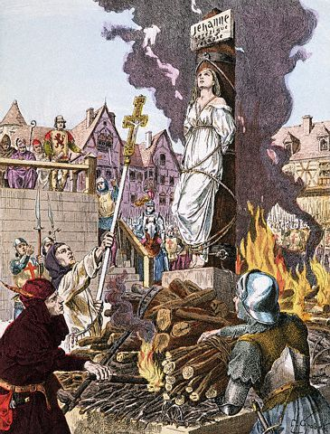Witches were persecuted by the Christians