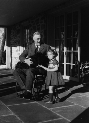 President Roosevelt with Polio: March of Dimes Established