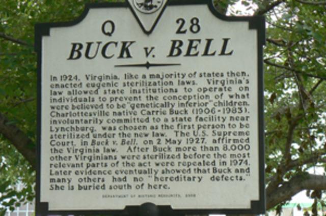 Buck vs. Bell Supreme Court Ruling