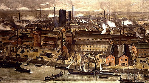 Industrialization Begins to Boom