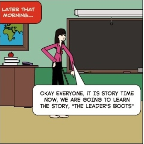 THE LEADER'S BOOTS