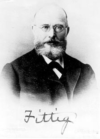 Р.Фиттиг и А.Байер вывели формулу глюкозы как альдегидоспирта