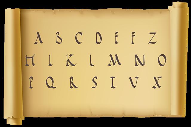 El alfabeto Romano Siglos VII-VI a. C