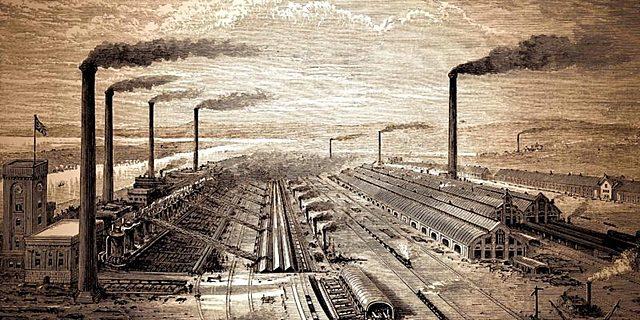 Revolución Industrial (Segunda mitad del siglo XVIII)