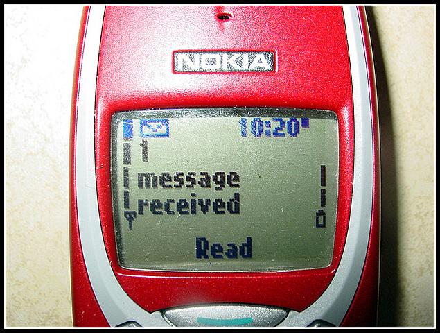 Los mensajes SMS