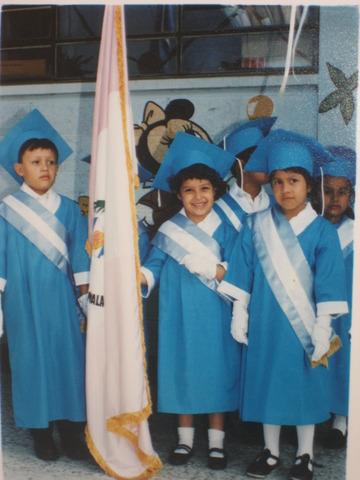 Graduación de Preprimaria
