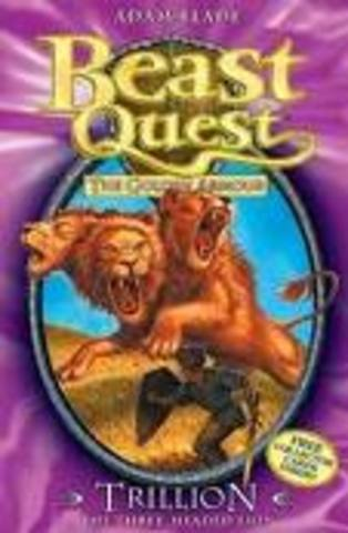 beast quest the golden armour trillon the three headed lion