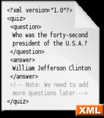 XML (Lenguaje de marcado extensible)
