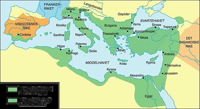 Det østromerske rikets fall