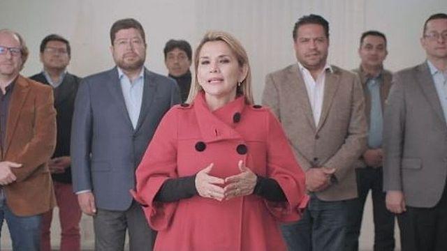 Jeanine Añez renuncia a su candidatura presidencial