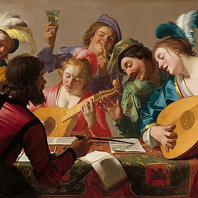 Music in the Renaissance Period timeline