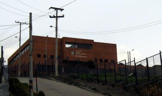 ingreso al colegio nueva roma