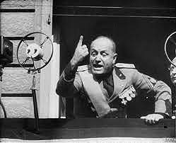 Caída de Mussolini