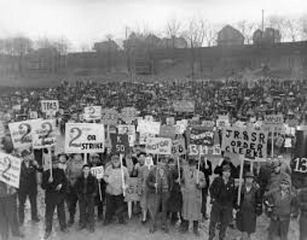 Homestead Steel Labor Strike