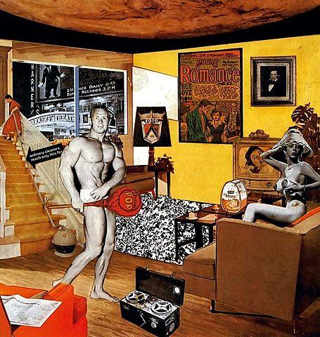 """""""Так что же делает наши сегодняшние дома такими разными, такими привлекательными?"""" Ричард Хэмильтон"""