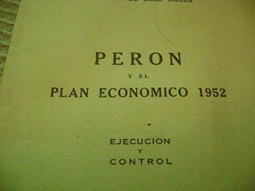 Anuncio del Plan de Emergencia Económica