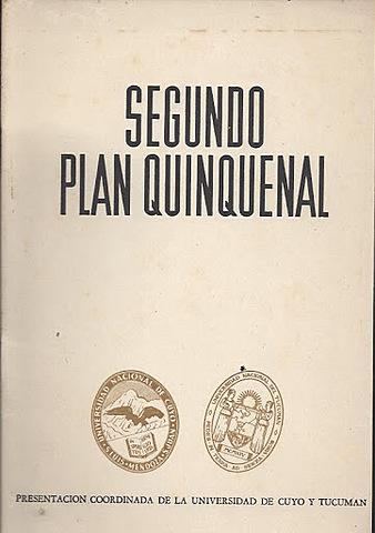 Lanzamiento del Segundo Plan Quinquenal