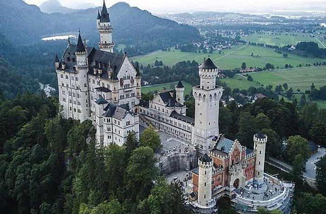 El Castillo de Neuschwanstein, Baviera, Alemania