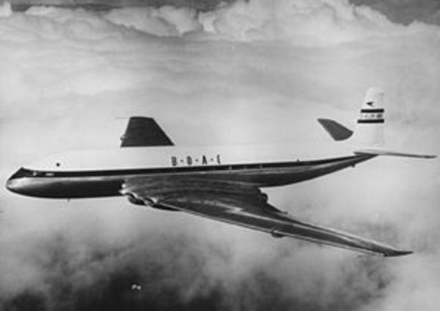 The first commercal jet airliner.