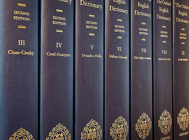 Oxford University Press publishes the A volume of its New English Dictionary, which will take 37 years to reach Z