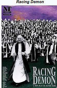 Racing Demon launches a trilogy on the British establishment by English playwright David Hare