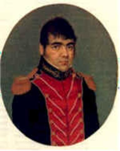 Antonio Rivera 1830-1831
