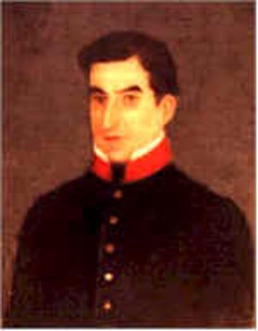 Manuel Jose Arce 1825-1830
