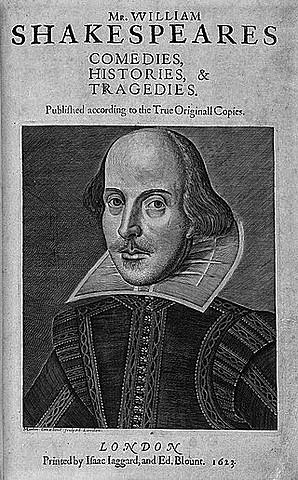 First Folio - Mr. William Shakespeare's Comedies, Histories, & Tragedies