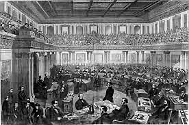 Andrew Johnson Gets Impeached