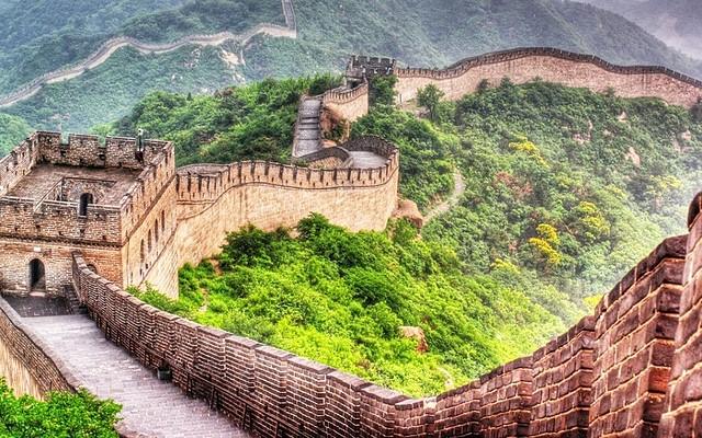 CONSTRUCCIÓN DE LA MURALLA CHINA