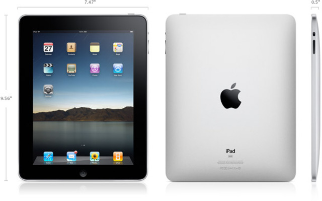 purchased iPad for my wife
