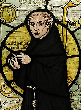 William of Ockham advocates paring down arguments to their essentials, an approach later known as Ockham's Razor