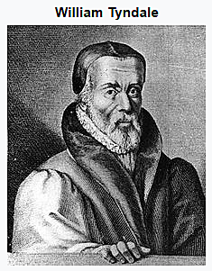 William Tyndale studies in the university at Wittenberg and plans to translate the Bible into English